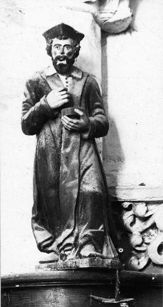 2 statuettes : Saint Côme, saint Damien