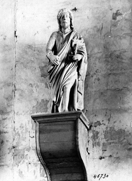 Statue : Saint Cassien (?)