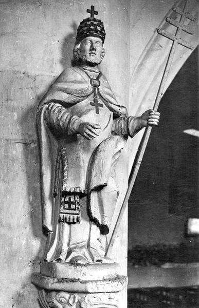 Statue : Saint Léon