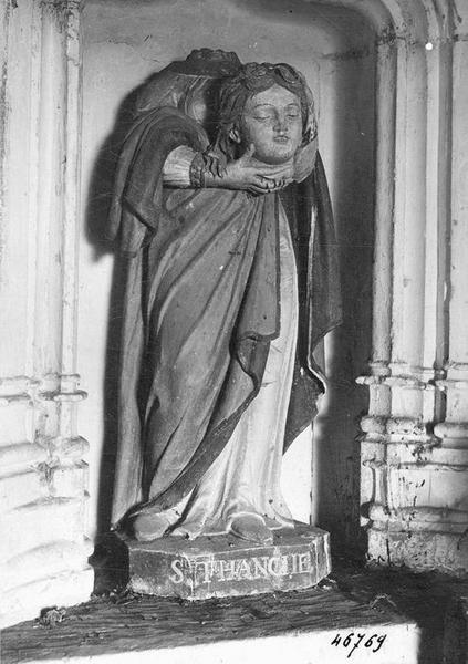 Statue : Sainte Tanche