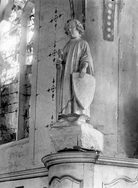 Statue : Saint Julien (déposée en mairie)