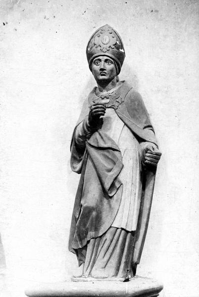Statue : Saint Éloi (?)