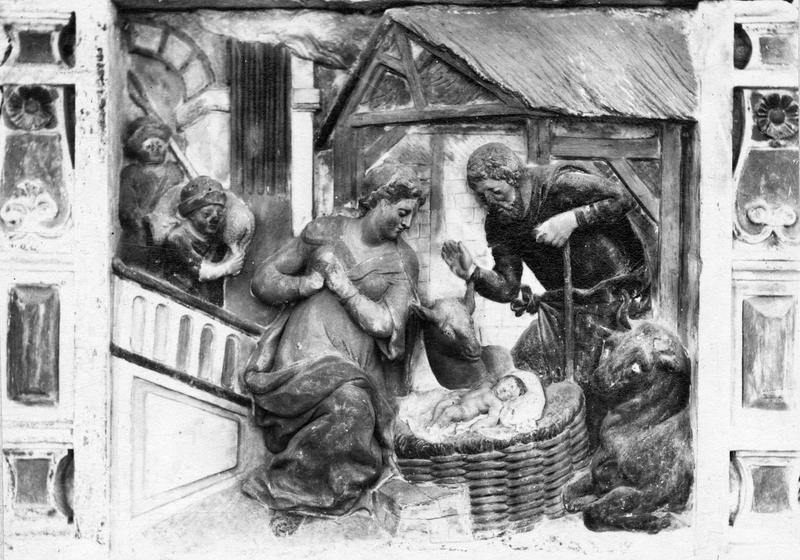 Relief : Adoration des Mages