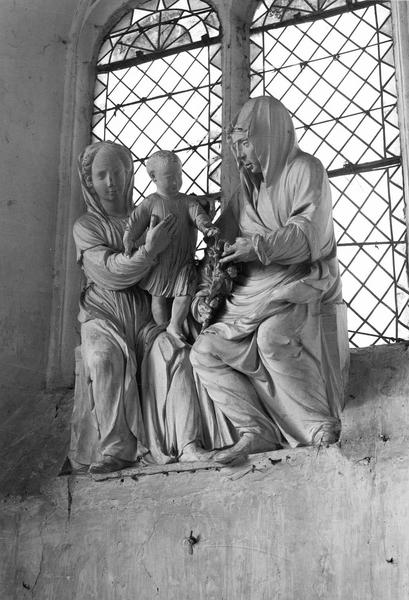 Groupe sculpté : Sainte Anne, Vierge, Enfant Jésus