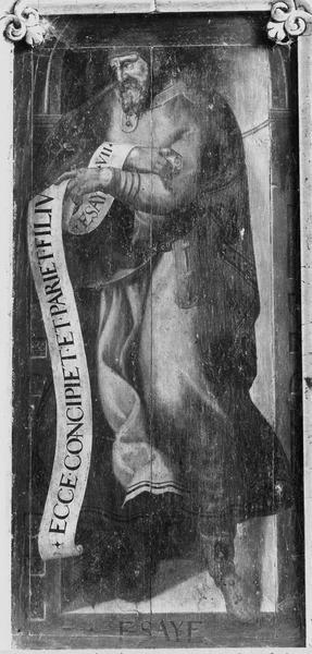 Panneau peint : Isaïe