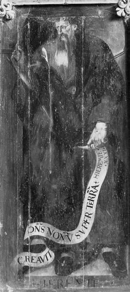 Panneau peint : Jérémie