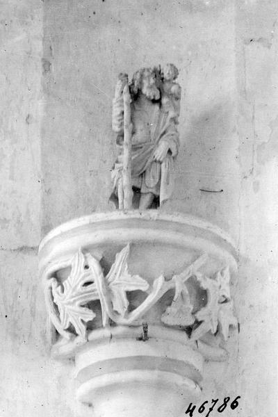 Statuette : Saint Christophe