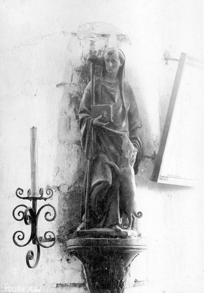 Statuette : Saint Antoine (disparue)
