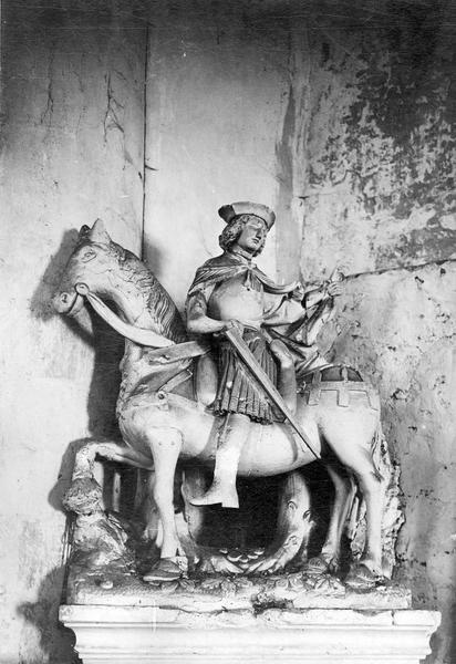 Statue : Saint Martin à cheval