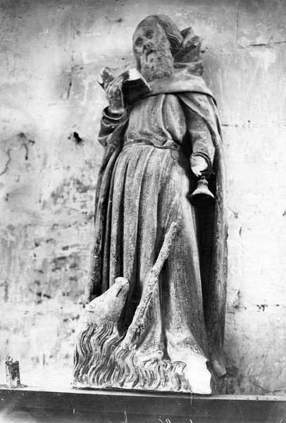 statuette : saint Antoine, vue générale
