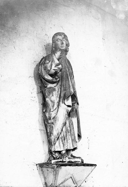 statue : saint Jean, vue générale