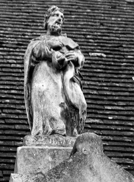 Statue : Saint Thibault en ermite