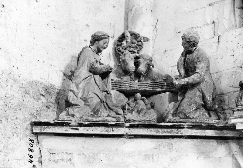 Bas-relief : Nativité (disparu)