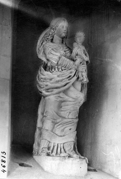 Statue : Vierge à l'Enfant en Nouvelle Ève
