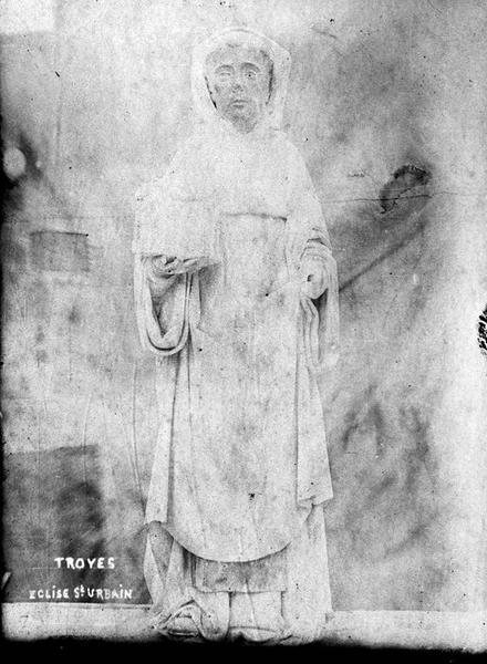 Statuette : Saint Bernard