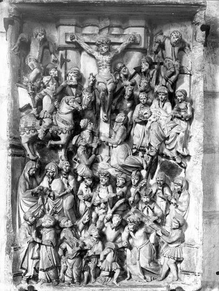 Bas-relief : Calvaire