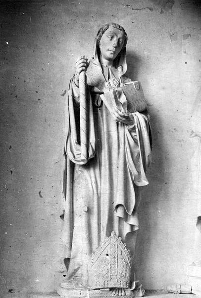 Statue : Saint Maur abbé