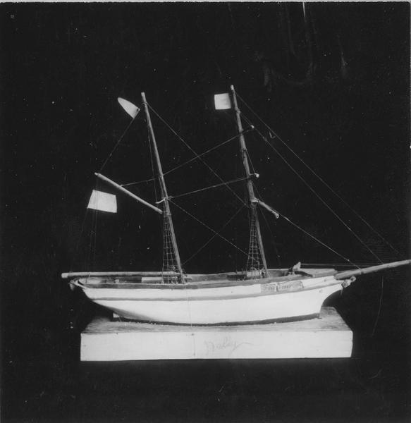 Ex-voto : maquette de bateau