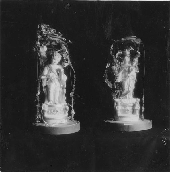Statuette ex-voto : La Sainte Vierge