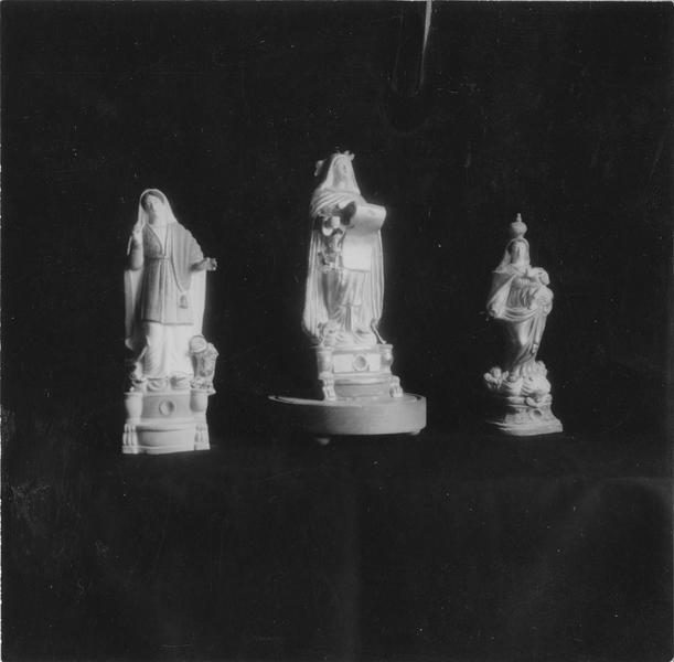 Statuette ex-voto : Sainte Marthe