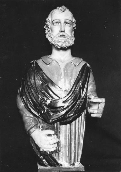 Statue ex-voto (figure de proue) : Saint Pierre