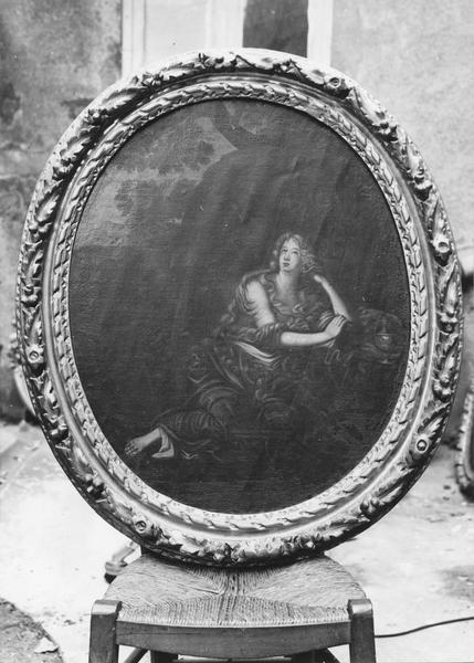 6 tableaux : Vierge à l'Enfant, Vierge de douleurs, La Sainte Famille, Ecce Homo, Marie-Madeleine pécheresse, Marie-Madeleine pénitente, et cadres