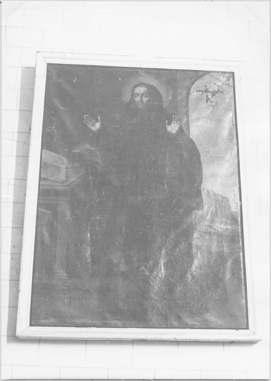 tableau : saint Benoît, vue générale