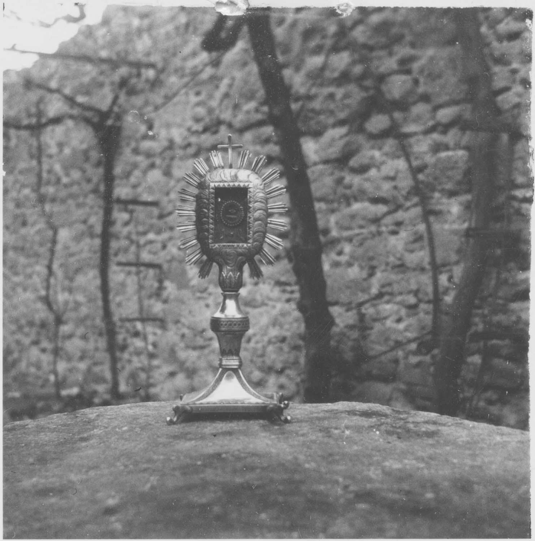 reliquaire-monstrance de saint Roch, vue générale
