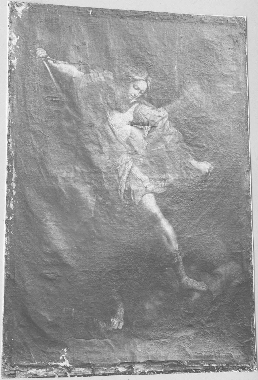 tableau : saint Michel terrassant le démon, vue générale