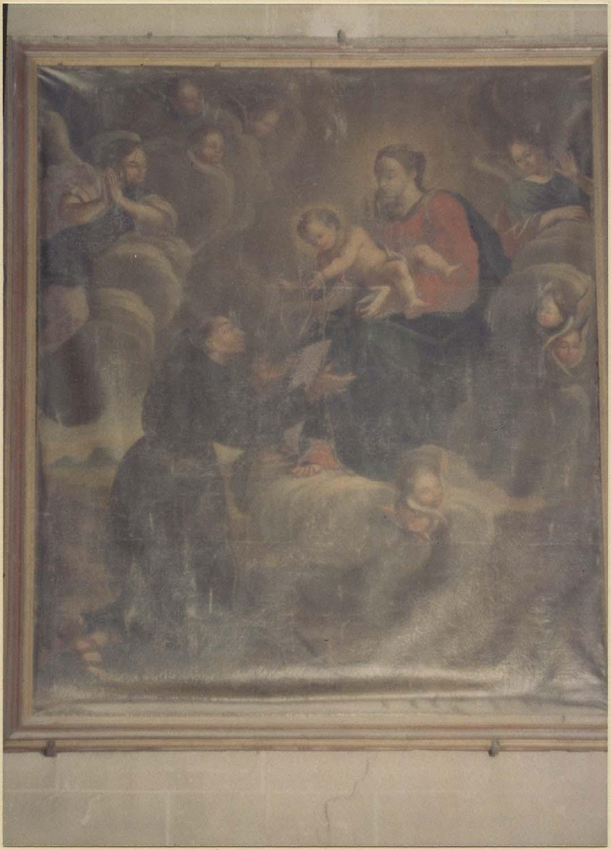 tableau : saint François recevant le cordon, vue générale