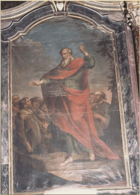 Tableau : saint Barthélémy, vue générale