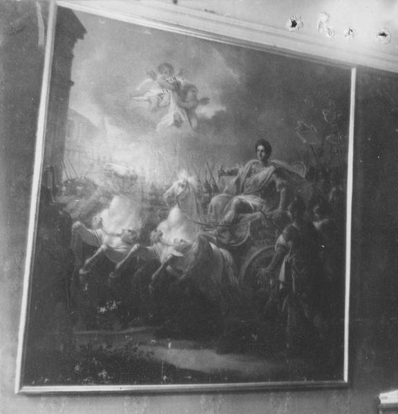tableau : Le Triomphe de Constantin, ou l'Entrée de Constantin à Rome, vue générale