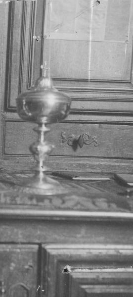 ciboire, vue générale