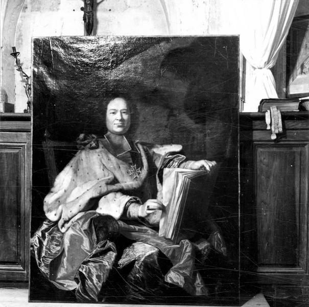tableau : Monseigneur de Beauvau du Rivau, archevêque de Narbonne, vue générale
