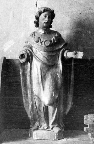 statue : Saint Jacques, vue générale