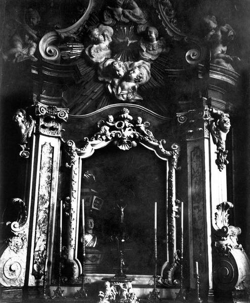 autel, retable, vue partielle
