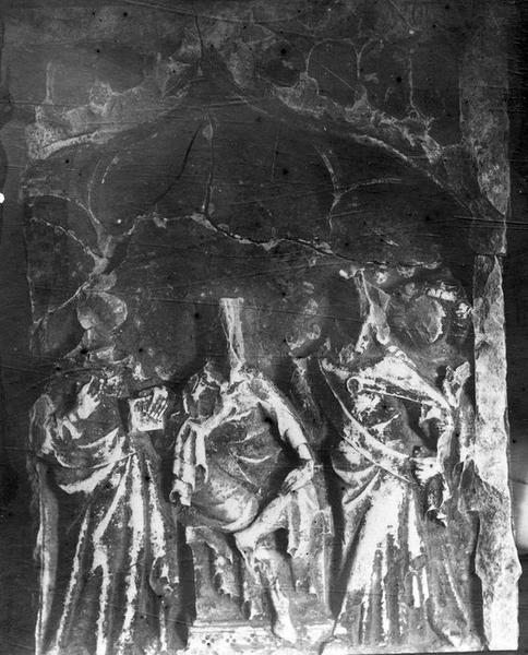 Bas-reliefs provenant d'un retable : Scènes de la vie et du martyre de saint Pierre