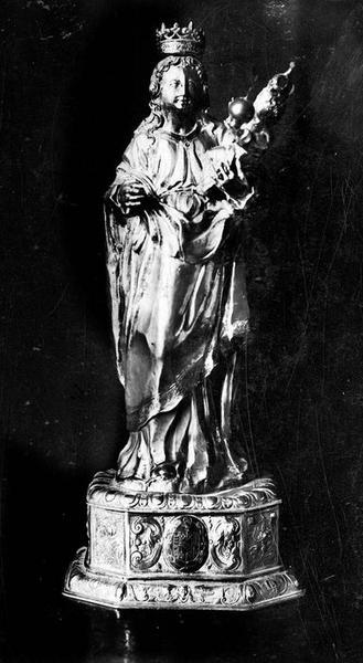 Statuette : Vierge à l'Enfant, vue générale