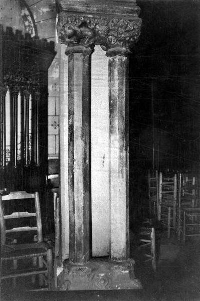 colonnettes, vue générale