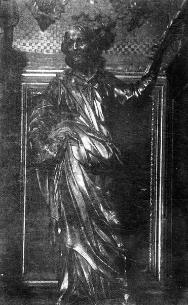 statue : Le prophète Isaïe, vue générale