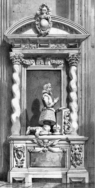 monument funéraire de Jean de Seigneuret, sieur de Laborde, Président et Trésorier général de France, vue générale