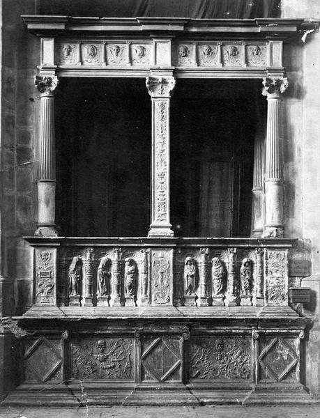 monument funéraire du cardinal Guillaume Briçonnet, archevêque de Narbonne, vue générale