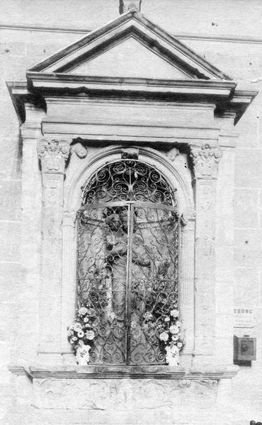 monument, statue : La Vierge à l'enfant, vue générale