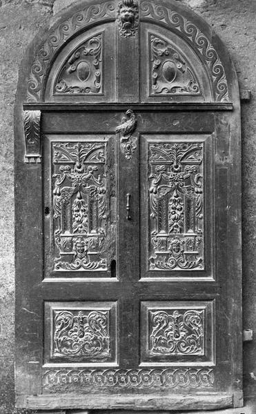 vantaux de porte, vue générale