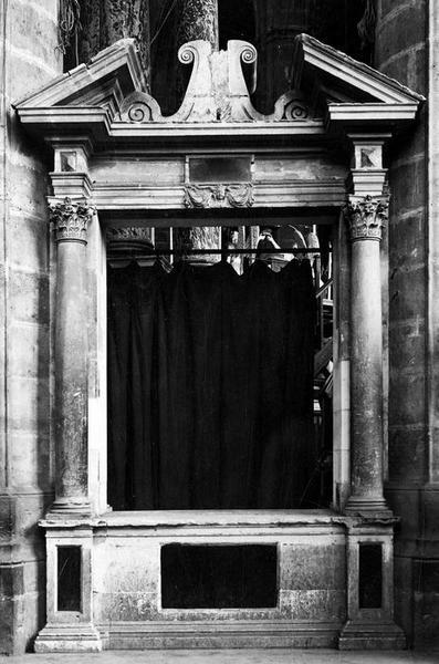 monument funéraire de Louis de Vervins, archevêque de Narbonne, vue générale
