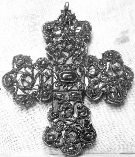 croix pastorale, vue générale