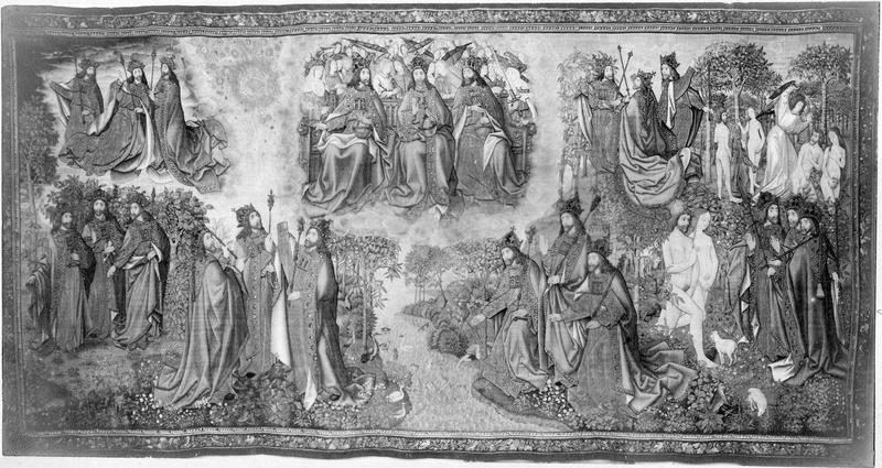 pièce murale : La Trinité, vue générale