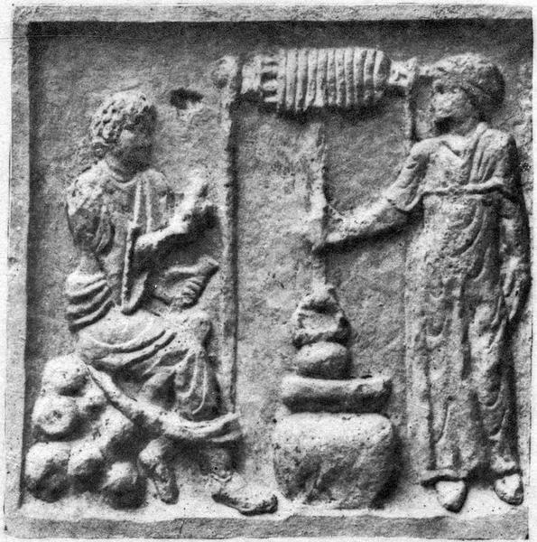 sarcophage, détail