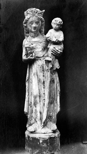 statue : Vierge à l'Enfant, vue générale