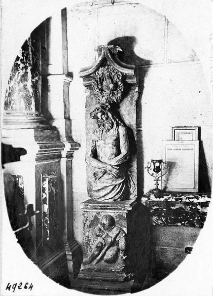 bas-relief : Christ de Pitié, vue générale